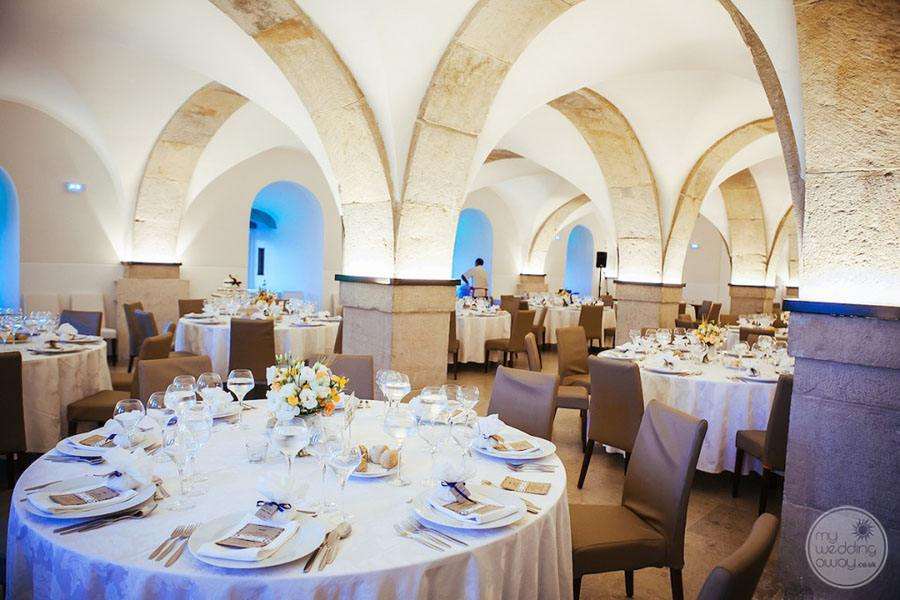 Pena Palace cathedaral ballrom wedding reception