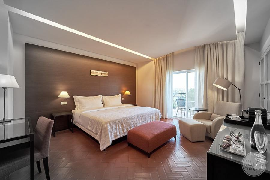 Penina Hotel and Golf Resort bedroom suite with in-room decor