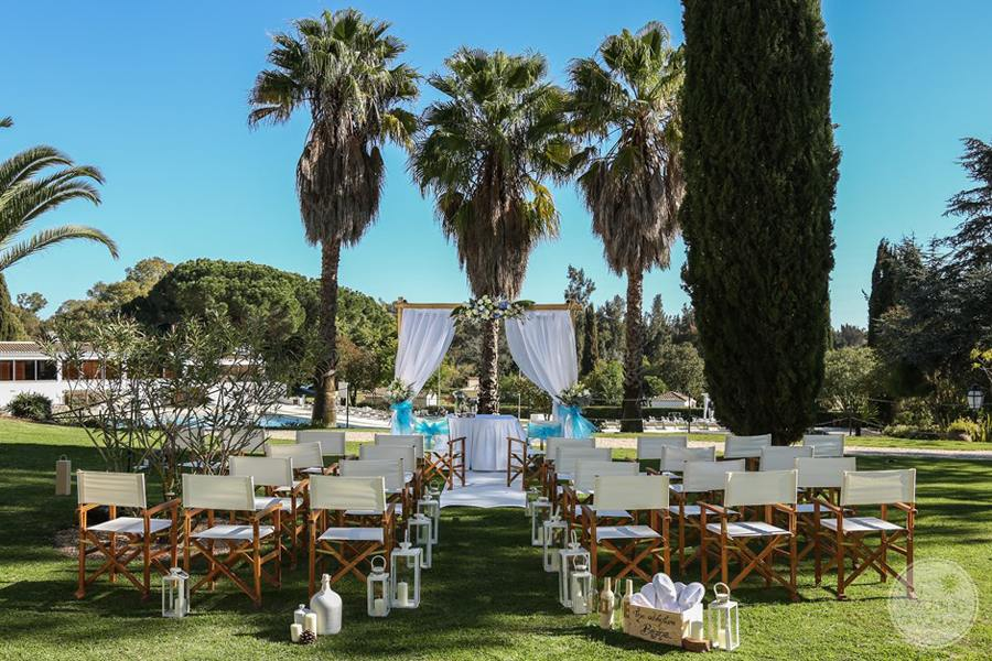 Penina Hotel and Golf Resort exterior grounds wedding ceremony