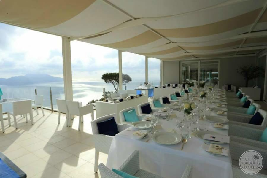 Relais Blu Boutique Hotel Massa Covered Dining