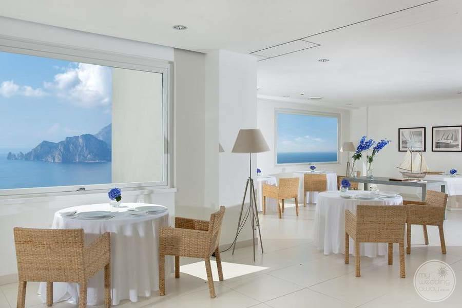 Relais Blu Boutique Hotel Massa Dining Area