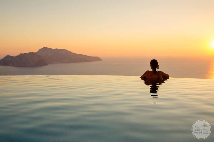 Relais Blu Boutique Hotel Massa Infinity Pool