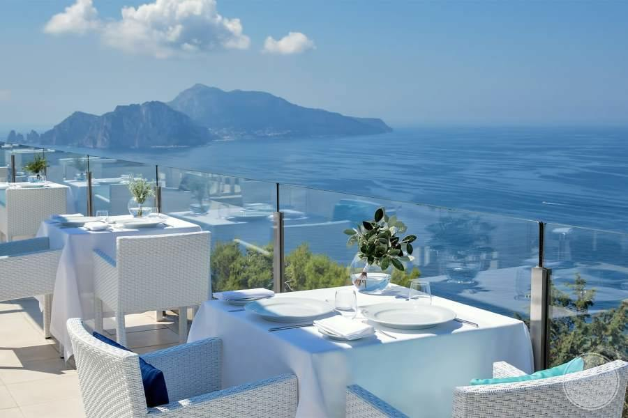 Relais Blu Boutique Hotel Massa Terrace Dining