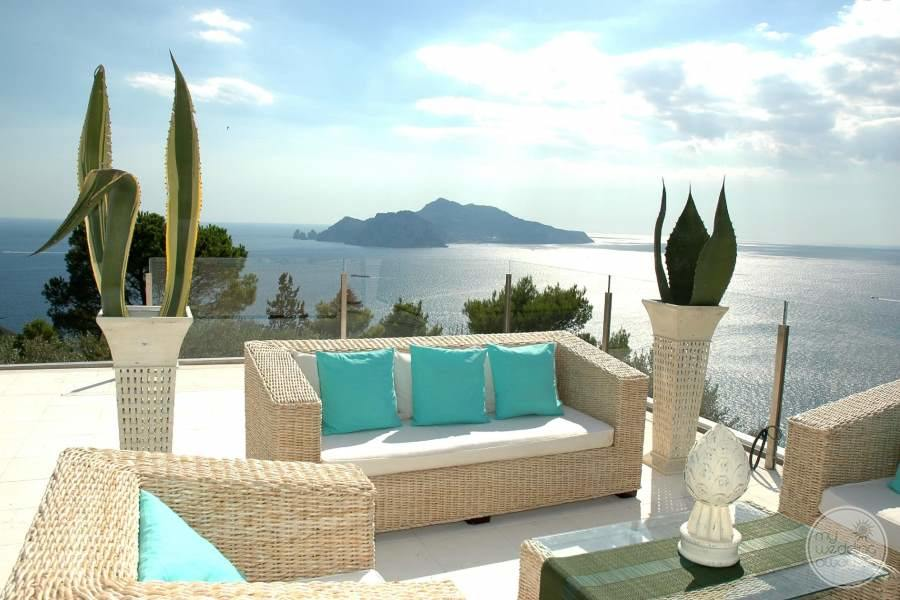 Relais Blu Boutique Hotel Massa Terrace Seating