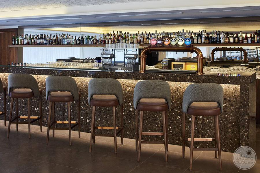 Tivoli Carvoiero Algarve Resort bar seating with premium drinks