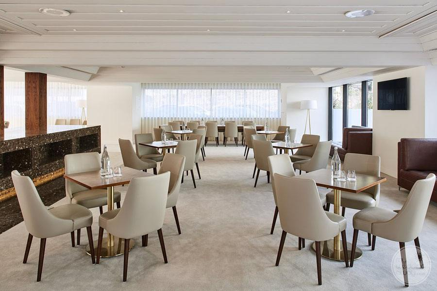 Tivoli Carvoiero Algarve Resort tables in bar area