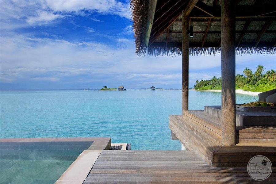 View from Overwater Bungalow