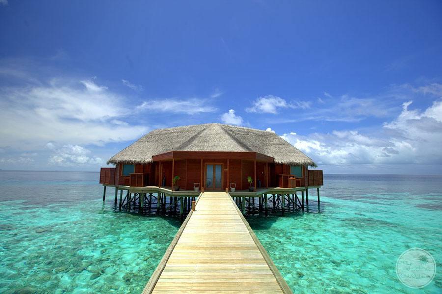 Overwater Suite Exterior