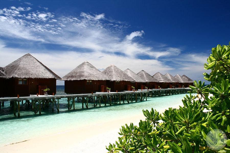 Mirihi Island Resort Water Bungalow Exterior