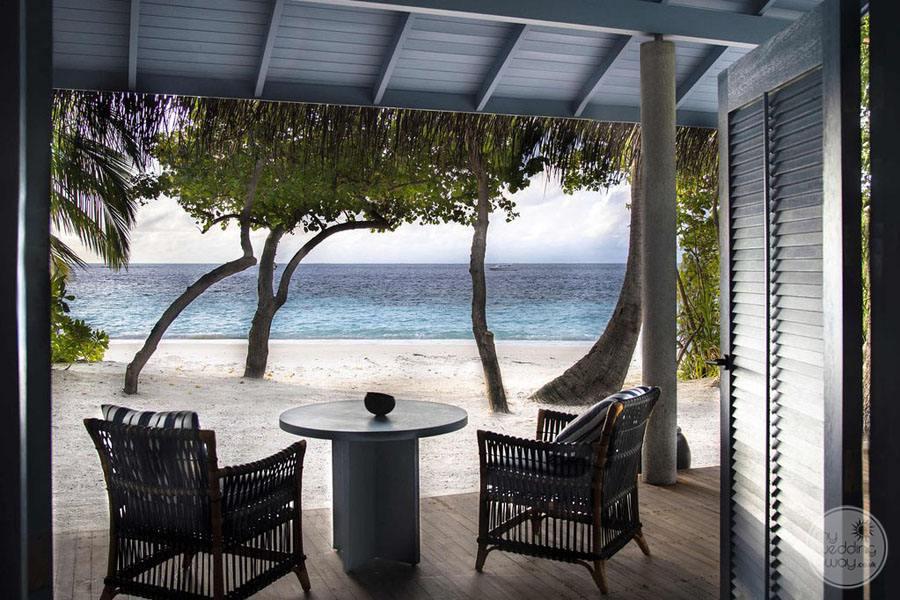 Raffles Maldives Meradoo Guest Room