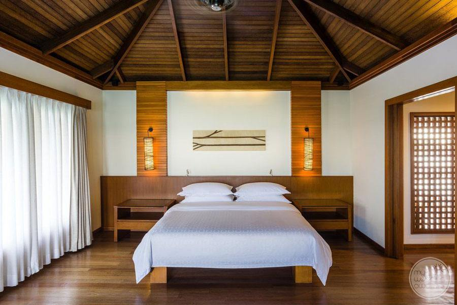 Sheraton Maldives Full Moon Resort and Spa Bedroom