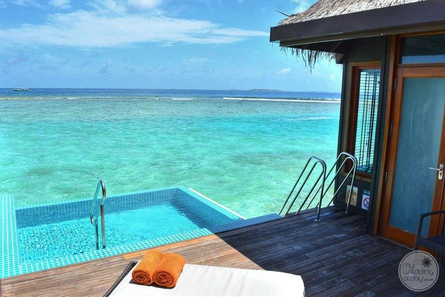 Sheraton Maldives Full Moon Resort and Spa Plunge Pool