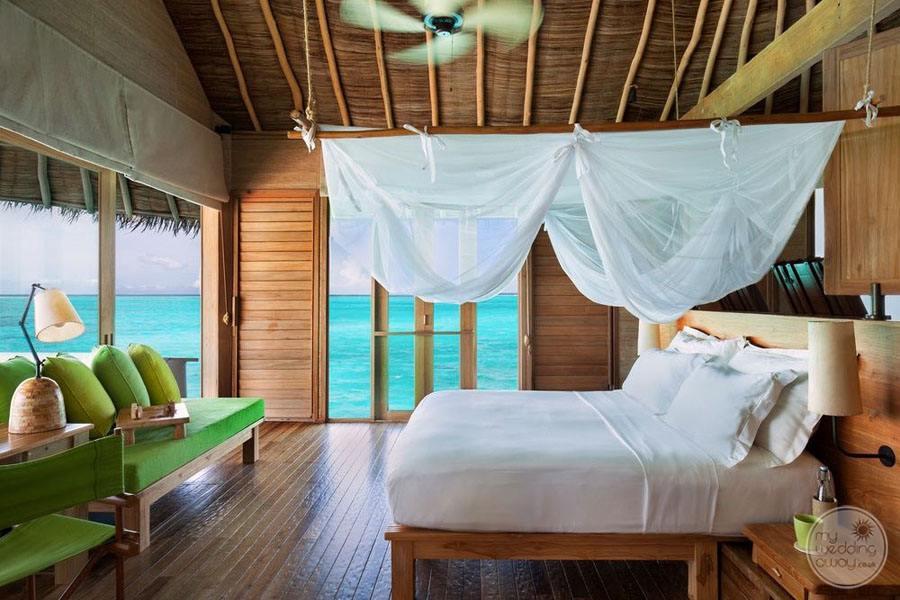 Six Senses Laamu Bedroom