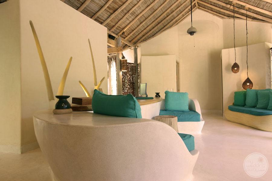 Six Senses Laamu Lounge Area