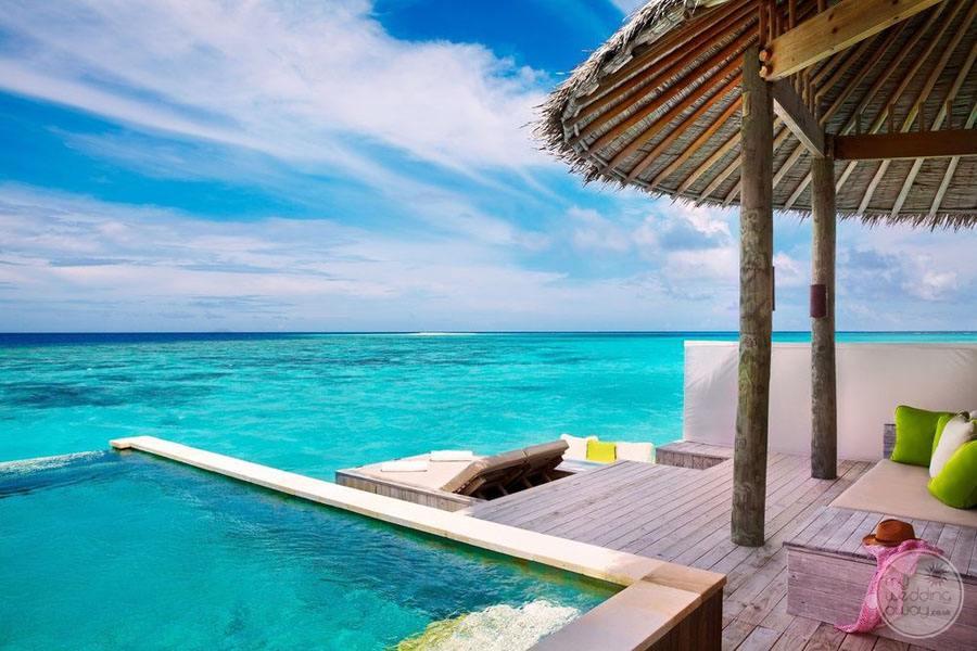 Six Senses Laamu Plunge Pool Overlooking Ocean