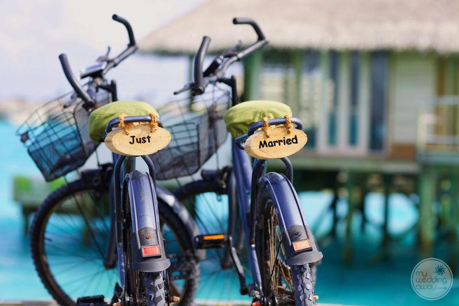 Six Senses Laamu Wedding Motorcycles