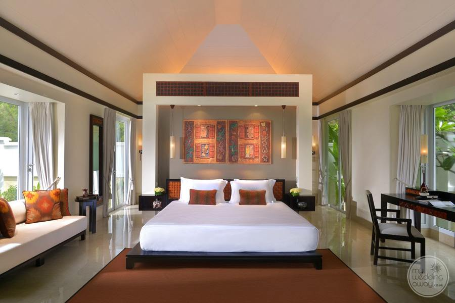 Banyan Tree Seychelles Bedroom