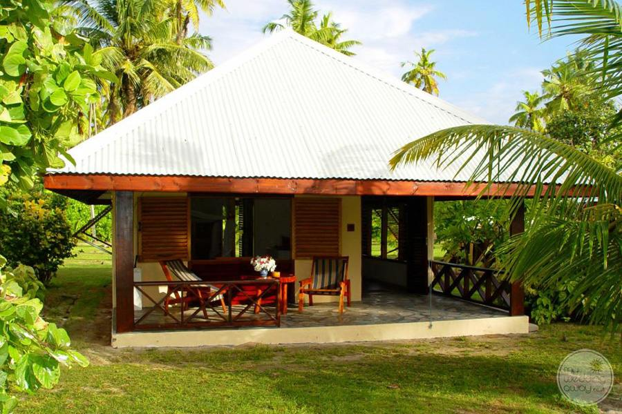 Lodge Villa with outside sitting deck