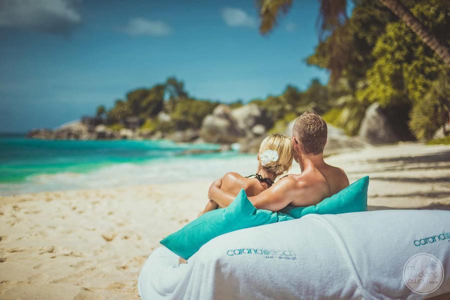 Carana Hilltop Villa Couple on Beach