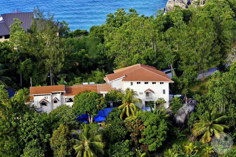 Carana Hilltop Villa Aerial View of Resort