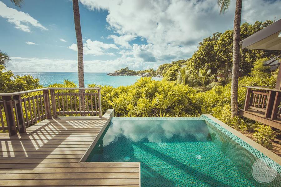 Carana Hilltop Villa infinity Plunge Pool
