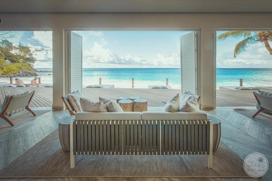 Carana Hilltop Villa Lounge Overlooking Deck Area