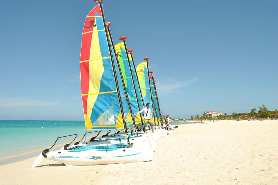 Water Sports at Beach Resort