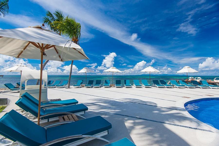 Coco de Mer Hotel Pool Terrace