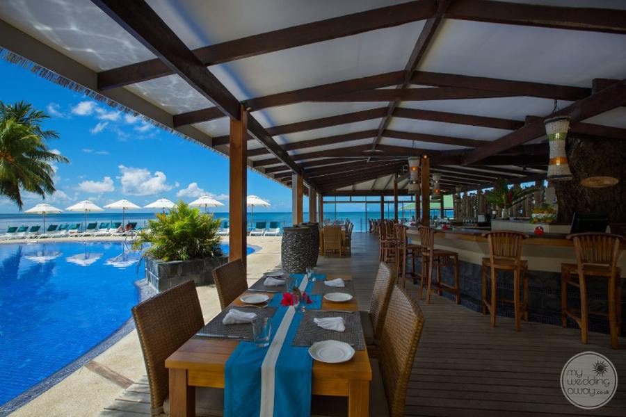 Coco de Mer Hotel Terrace Dining