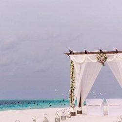 Como Maalifushi Romantic Beach Wedding