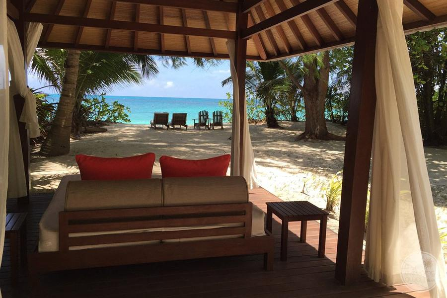 Denis Private Island Beach Cabana