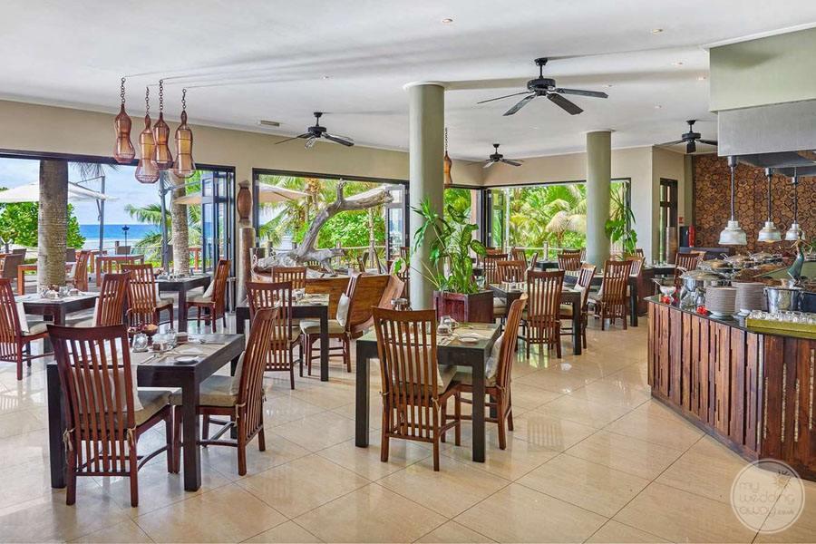 Doubletree by Hilton Seychelles Allamanda Resort and Spa Restaurant