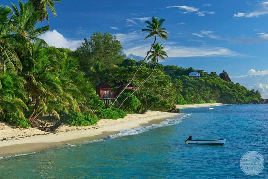 Doubletree by Hilton Seychelles Allamanda Resort and Spa beachfront