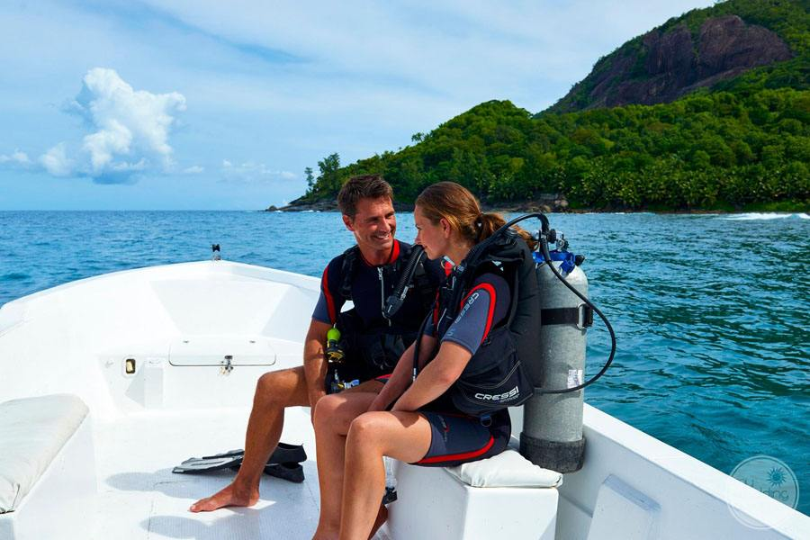 Doubletree by Hilton Seychelles Allamanda Resort and Spa diving activities