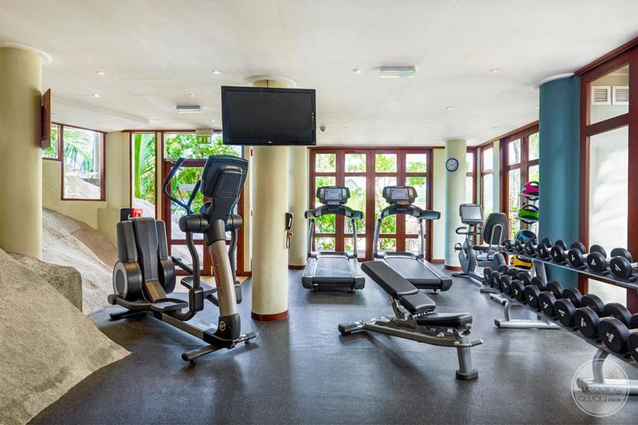 Doubletree by Hilton Seychelles Allamanda Resort and Spa gym