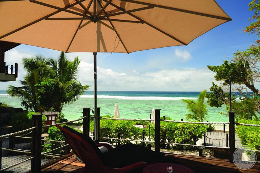 Doubletree by Hilton Seychelles Allamanda Resort and Spa Sunbed views