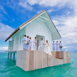 Four Seasons Maldives Wedding on the Water