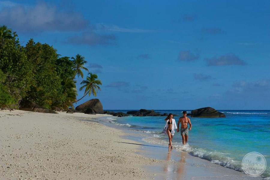 Hilton Seychelles Labriz Resort and Spa beach