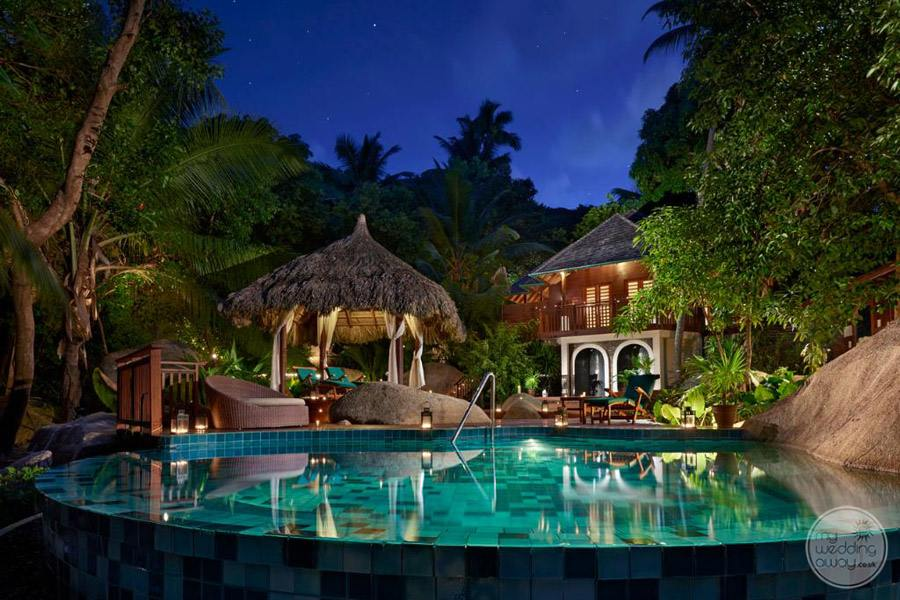 Hilton Seychelles Labriz Resort and Spa Infinity Pool
