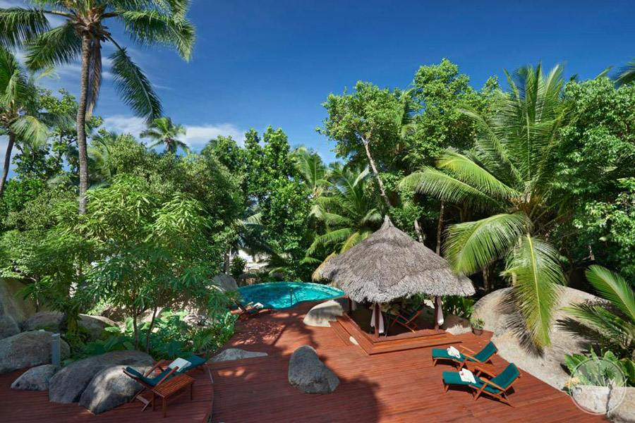 Hilton Seychelles Labriz Resort and Spa deck