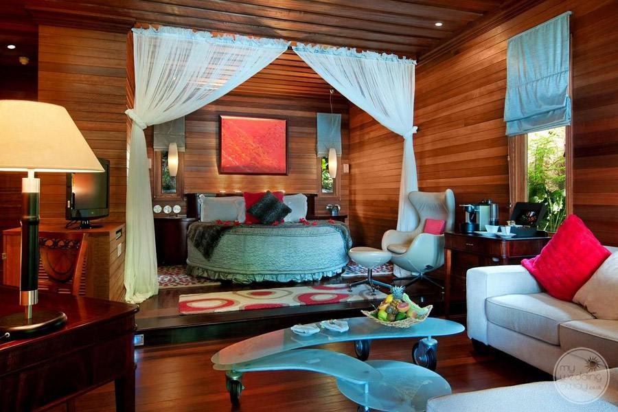 Hilton Seychelles Northolme Resort and Spa bedroom