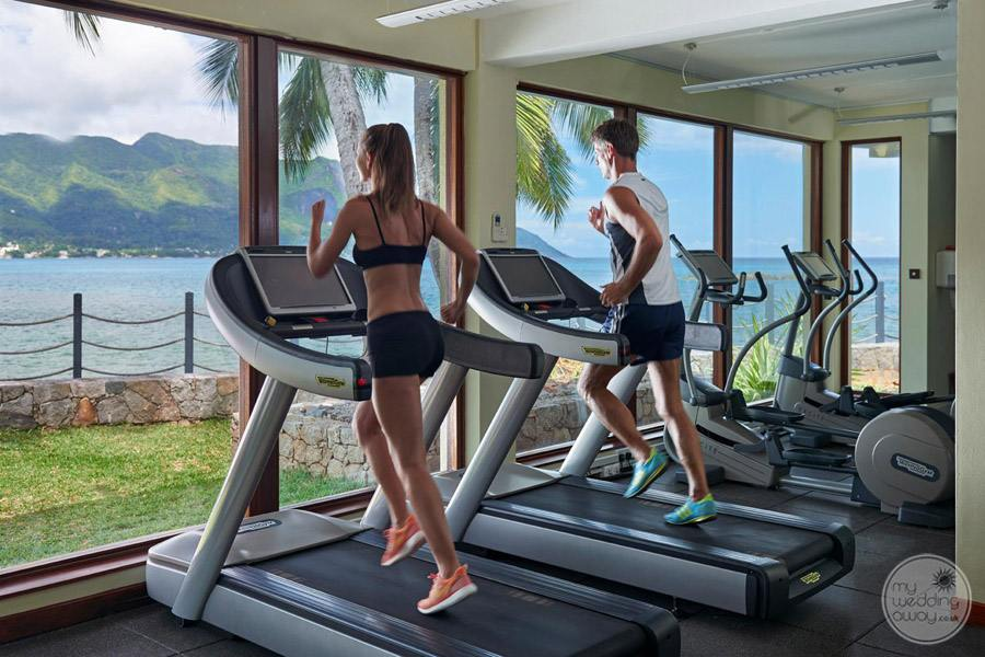 Hilton Seychelles Northolme Resort and Spa fitness Center