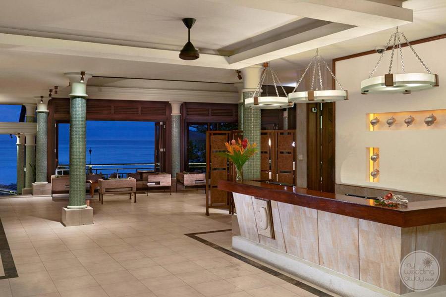 Hilton Seychelles Northolme Resort and Spa Lobby