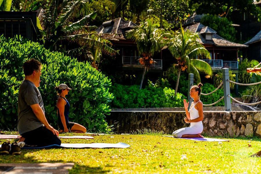 Hilton Seychelles Northolme Resort and Spa yoga