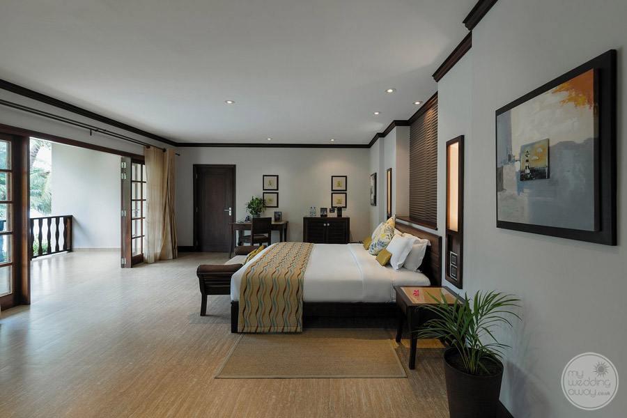 Hotel L'Archipel Seychelles bedroom