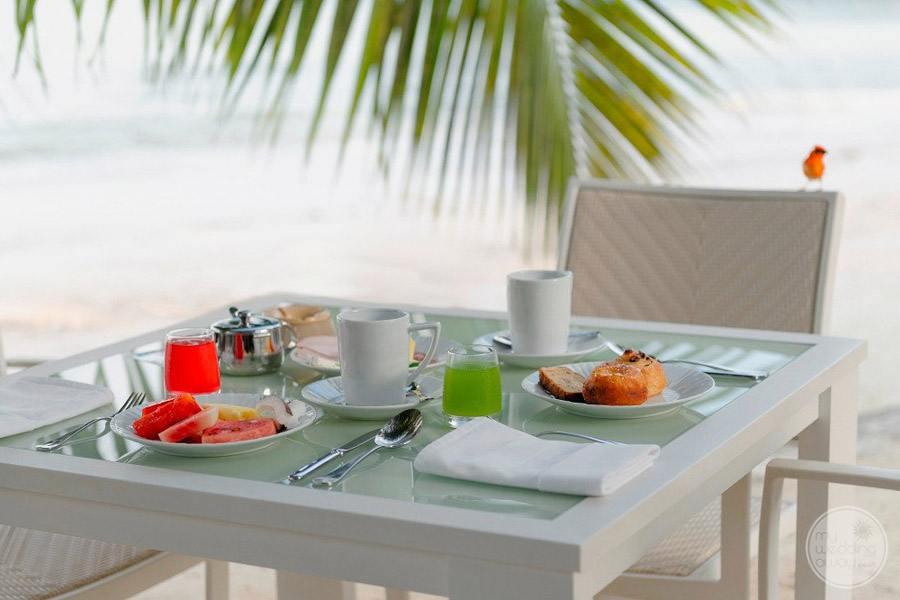 Hotel L'Archipel Seychelles Dining