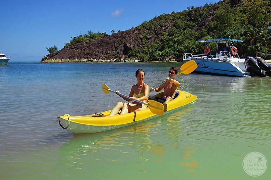 Hotel L'Archipel Seychelles Kayaking