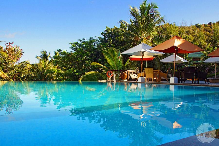 Hotel L'Archipel Seychelles Main Pool