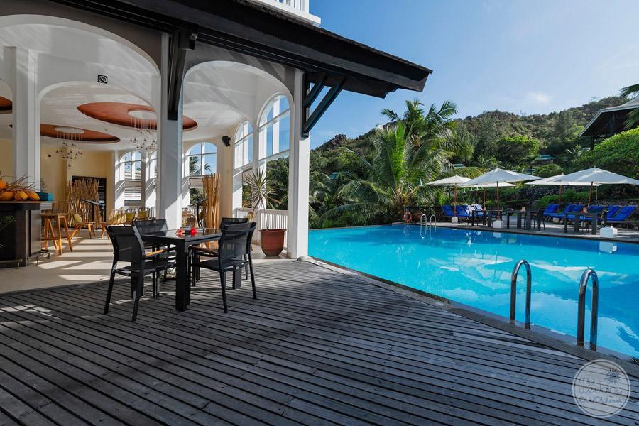 Hotel L'Archipel Seychelles Restaurant Deck