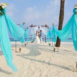 Hurawalhi Island Resort Beach Wedding Vows